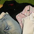 Отдается в дар Мужская одежда размер 46-48