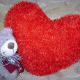 Отдается в дар Подушка сердце