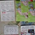 Отдается в дар Календарики карманные 2018 г -в коллекцию.