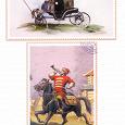 Набор открыток история почты россии, анекдоты