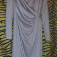 Отдается в дар Платье женское, платье и халатик для девочки.