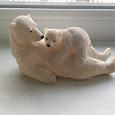 Отдается в дар Мягкая игрушка кота и статуэтка медведей