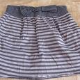 Отдается в дар летняя короткая юбочка, 46 размер