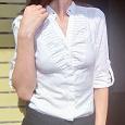 Отдается в дар Рубашка белая Zara XS