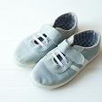Отдается в дар Кеды джинсовые р. 33-34, обувь на мальчика 7-9 лет