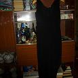 Отдается в дар Платье черное, трикотажное, вечернее