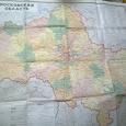 Отдается в дар Карта «Московская область»