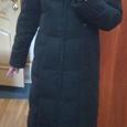 Отдается в дар Длинный зимний, теплый пуховик