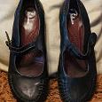 Отдается в дар Туфли кожаные чёрные