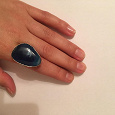 Отдается в дар Кольца (синий камень/цветное)