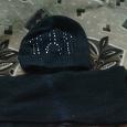 Отдается в дар Женские шапка и шарф