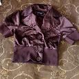 Отдается в дар Легкая курточка на пуговицах 40-42р.