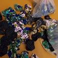 Отдается в дар Много цветов из ткани для декора чего-нибудь