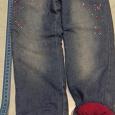 Отдается в дар Детские джинсы утепленные