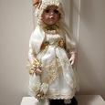 Отдается в дар Фарфоровая кукла 42 см