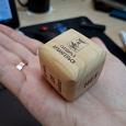Отдается в дар Деревянный кубик