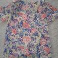 Отдается в дар Цветочная блузка 42 размер