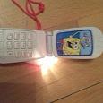Отдается в дар Детский телефон звуковой
