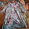 Отдается в дар Платье короткое с длинными рукавами.