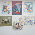 Отдается в дар Новогодние открытки 80-е (2)