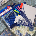 Отдается в дар Немного канцелярии: тетрадка, блокнот, карандаши