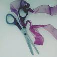 Отдается в дар филировочные ножницы для соц.парикмахера)))
