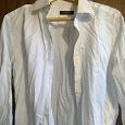Отдается в дар Рубашка мужская белая офисная Размер XL 43-44.
