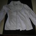 Отдается в дар Блузка-рубашка девочке