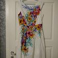 Отдается в дар Легкое летнее платье из хлопка 42-44 размер.