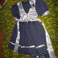 Отдается в дар платье для девочки, рост 122