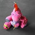 Отдается в дар Развивающая игрушка K'S Kids розовый динозавр