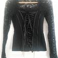 Отдается в дар Блуза черная в готическом стиле