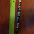 Отдается в дар Ручка деревянная сувенирная с матрёшкой без стержня