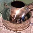 Отдается в дар Чайник со свистком большой стальной: есть недостатки.