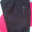 Отдается в дар Брюки-джинсы чёрные 34р-р/рост 175-180 новые, с нюансом