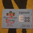 Отдается в дар Проездной билет Московское варенье