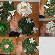Отдается в дар Венки из искусственной хвои новогодние разных видов