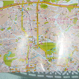 Отдается в дар Карта города Москвы