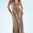 Отдается в дар Вечернее длинное платье со стразами- 8 ед.
