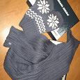Отдается в дар Зимний комплект (варежки+шарф)