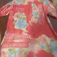 Отдается в дар Женская блузка с коротким рукавом.Размер 46.