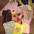 Отдается в дар мешок вещей для девочки