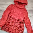 Отдается в дар Куртка для девочки демисезонная на 7-8 лет