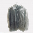 Отдается в дар новая кожаная куртка, женская, L