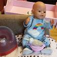 Отдается в дар Кукла Baby Born с приданым