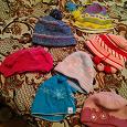 Отдается в дар шапки детские демисезонные