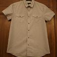 Отдается в дар Мужская рубашка Oodji Man, размер — 182, М