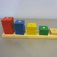 Отдается в дар Игрушка деревянная — пирамидки