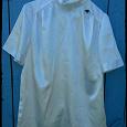 Отдается в дар Атласная белая блузка 48-50