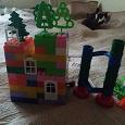 Отдается в дар Детский пластиковый конструктор